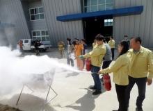 [예천]예천군농업기술센터 소방훈련으로 재난 대처