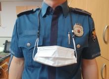 [예천]예천경찰서, 전 직원 마스크 걸이 배부